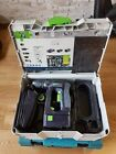 Festool C 18 Li 18V Cordless Drill+Two Batteries And Charger in Systainer 2.