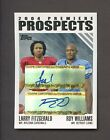 2004 Topps Premiere Larry Fitzgerald Roy Williams RC Rookie Dual AUTO 50