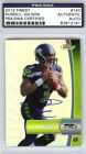 Russell Wilson Autographed 2012 Finest Rookie Refractor Card Seahawks PSA DNA