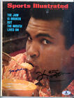 Muhammad Ali & Ken Norton Jr. Autographed Sports Illustrated Gem 10 Beckett BAS