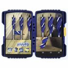 Irwin 6 Blue Groove 6X Wood Drill Bit Set 10507604 Carpentry Plumbing Building