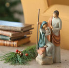 The Holy Family Willow Tree Nativity Figurine by Susan Lordi New Demdaco 26290