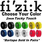Fizik Tacky Touch 2mm Handlebar Bar Logo Tape Road Race Bike Choose Your Color