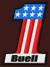 BUELL EMBROIDERED PATCH ~2-3/4