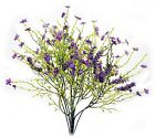 Artificial Babys Breath Heather Flower Bush Bouquet Floral Wedding Home NEW