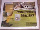 Vintage 1980 NORTHERN Carlyle AUTOMATIC ELECTRIC BLANKET Full Size NEW/SEALED