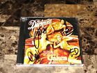The Darkness Rare Authentic Band Signed Hot Cakes CD Original Lineup Glam Rock