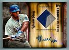 YASIEL PUIG 2015 TOPPS HEART OF THE ORDER 2 COLOR PATCH AUTOGRAPH AUTO 10