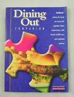 Weight Watchers Dining Out Companion Winning Points Lists 2002