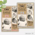 Thank You Cards Flat or Folded Baby Birth Announcements Personalised