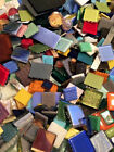 Huge Assorted Lot of Mixed Glass Mosaic Craft Tiles 20lbs