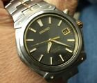 Handsome men's Seiko Kinetic 100 meter watch. May need attention.