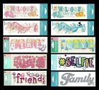 Jolees Stickers SELFIE FRIENDS ALL ABOUT ME BABY BOY BABY GIRL FAMILY