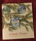 PRES OBAMA 2015 CHRISTMAS HOLIDAY TOUR WHITE HOUSE BOOK CARD FACSIMILE SIGNED