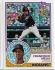 2018 Topps Series 1 1983 TOPPS CHROME Silver Pack 47 FRANCISCO MEJIA