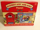 Applause Special Edition Raggedy Ann & Andy Playset House Finger Puppets w Box