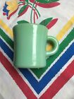 Vtg Fire King Jadeite C Handle Heavy Duty Restaurant Oven Ware Coffee Cup