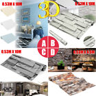 3D Brick Stone Embossed Textured Home Wallpaper Wall Paper Rolls Room Decor 10M