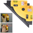 Right Angle 90 Vertical Horizontal Measurer Laser Line Projection Square Tool BI