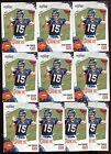 10 CARD LOT TIM TEBOW 2010 SCORE ROOKIE #396 FLORIDA BRONCOS NY NEW YORK METS RC
