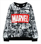 Marvel Comics Hoodie Sweate man woman Jacket multi color  Sweatshirt