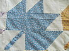 Vintage 1930's era Maple Leaf quilt top never laundered 73 x 83 inches