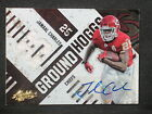Jamaal Charles 2010 Absolute Ground Hoggs Autograph Jersey (3 5) KC Chiefs #10