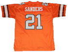BARRY SANDERS AUTOGRAPHED SIGNED OKLAHOMA STATE COWBOYS #21 JERSEY W HEISMAN 88