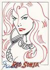 Red Sonja Premiere - Gordon Purcell Sketch Card