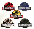 Jurassic Park Logo 4 Wide Embroidered Patch 5 Colors Mailed from USA FREE S