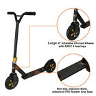 Xspec Aluminum Offroad Stunt Dirt Kick Scooter All Terrain Mountain Black Gold