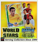 2 boxes of 2010 Topps Match Attax World Stars Trading Card Factory Box(24 x 2)