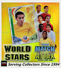 5 boxes of 2010 Topps Match Attax World Stars Trading Card Factory Box(24 x 5)