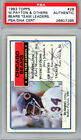 1983 Bears Autographed 1983 Topps Card 5 Sigs Walter Payton PSA DNA 26607395