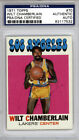 Wilt Chamberlain Autographed Signed 1971 Topps Card Lakers