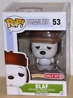 FUNKO 2015 POP ANIMATION PEANUTS TARGET EXCLUSIVE OLAF #53 Vinyl Figure IN STOCK