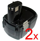 2 18V 3A Battery for Hitachi CR18DV CR18DLP4 DH18DL Rotary Hammer drill DH 18DLX