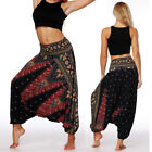 New Boho Baggy Harem Pants Hippie Loose Fit Gypsy Yoga Palazzo Dancing Trousers