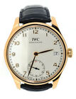 IWC Portuguese Hand Wound 8 Days 18K Rose Gold Watch IW510204