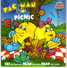 Pac-Man Picnic 45rpm Read to Me Book Kids Stuff Awesome Vintage book
