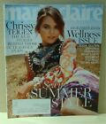 MARIE CLAIRE~JULY 2017~CRISSY TEIGEN~WELLNESS ISSUE~ COMPLETE MAGAZINE