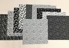 Black  White Layer Cake 40 10 Squares Quilting  Sewing Fabric