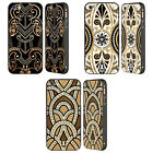 HEAD CASE DESIGNS ART DECO LUXE BLACK BUMPER SLIDER CASE FOR APPLE iPHONE PHONES
