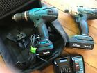 MAKITA 18 VOLT TD127 IMPACT DRIVER AND A HP457D HAMMER DRILL DRIVER,TWIN PAC