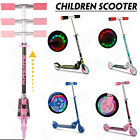 Kick Scooter for Kids Deluxe Aluminum 2 Wheels Glider with LED Light Up Wheels