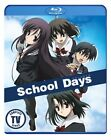 SCHOOL DAYS COMPLETE TV SERIES New Sealed Blu ray