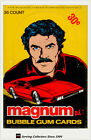 1983 Magnum P.I. Bubble Gum Trading Cards Factory Box (36 Packs)-Original, Rare