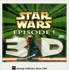 Star Wars Episode I Movie Widevision 3-D Trading Card Box (36)-Quality