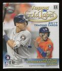 2017 TOPPS GOLD LABEL BASEBALL SEALED HOBBY BOX rc sp class 1 2 framed auto
