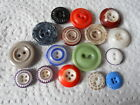 ANTIQUE/VINTAGE 16 GOOD CHINA BUTTONS   #207